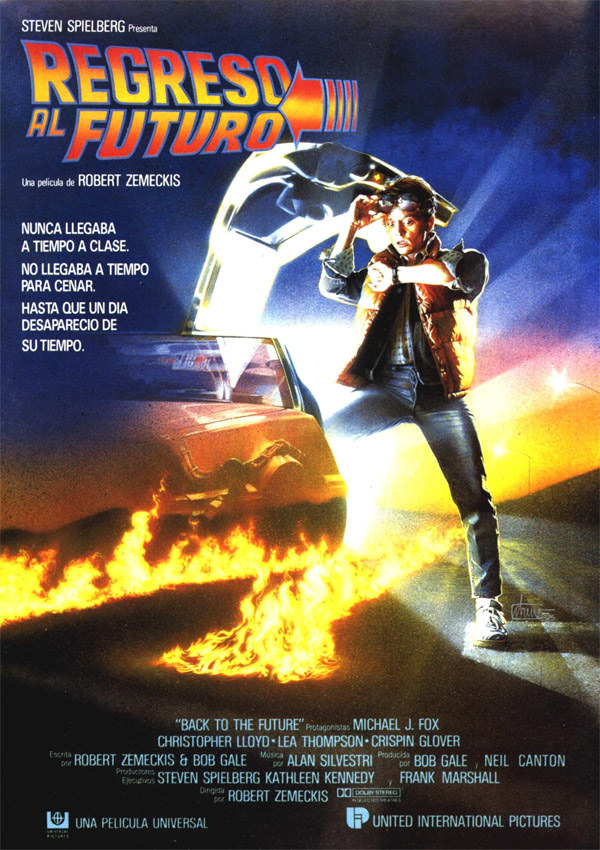 Poster Back to the Future Allowed Free use